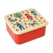 Red Riding Hood tízórais doboz Piroskás motívummal - Rex London