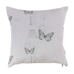 Grey Butterfly párnahuzat - Apolena