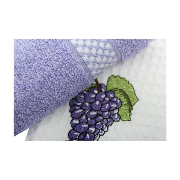 Grapes kéztörlő, 2 darabos szett