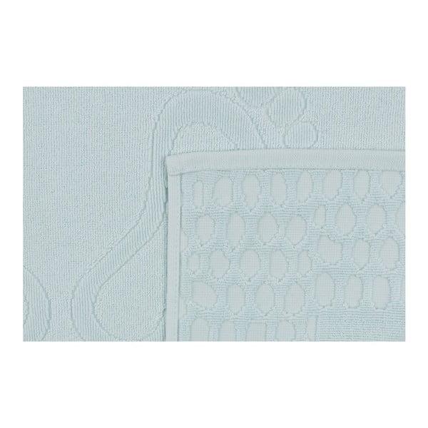 Pastela világoskék fürdőszobaszőnyeg, 70 x 50 cm