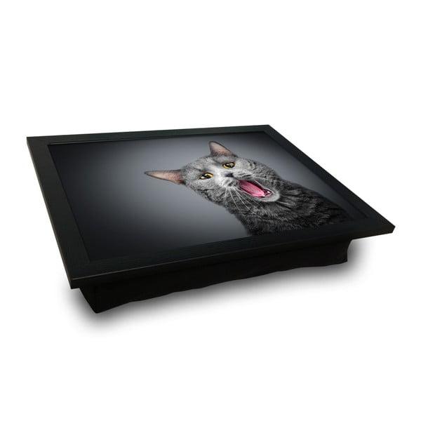 Cat tálalótálca párnával az alsó oldalon, 36 x 46 cm