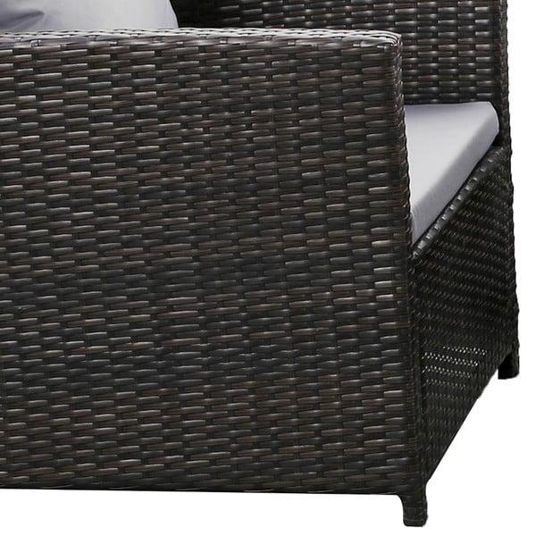 Dion kerti bútor garnitúra, mesterséges rattanból - Timpana