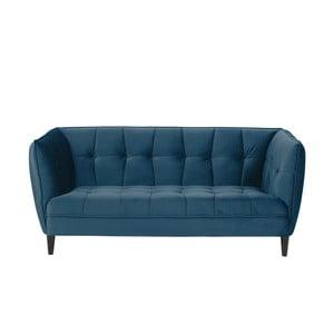 Jonna kék kétszemélyes kanapé, hosszúság 182 cm - Actona