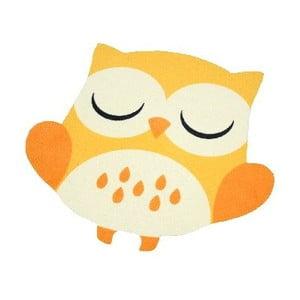 Owls sárga gyerekszőnyeg, 100 x 100 cm - Zala Living