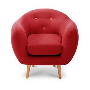Constellation Red/Orange/Natural fotel - Scandi by Stella Cadente Maison