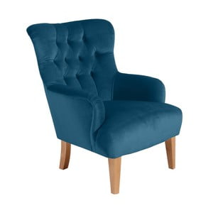 Brandon Suede petróleum kék fotel - Max Winzer