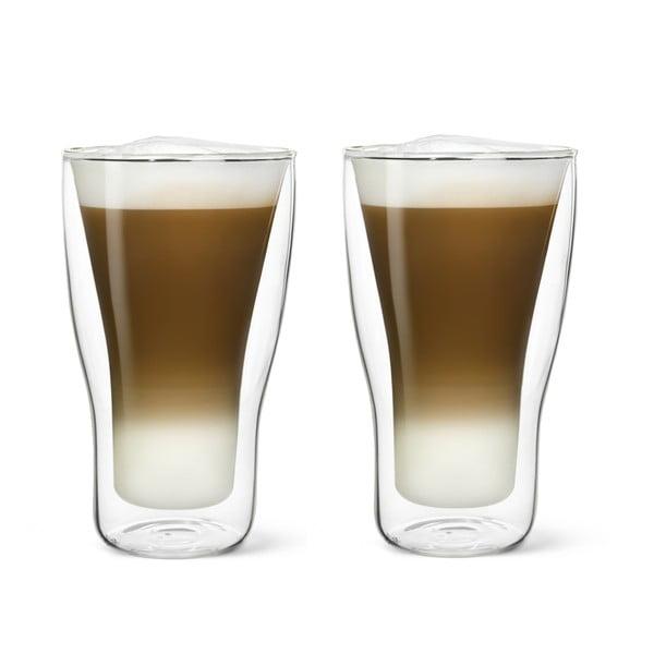 2 részes duplafalú lattés pohárkészlet, 340 ml - Bredemeijer