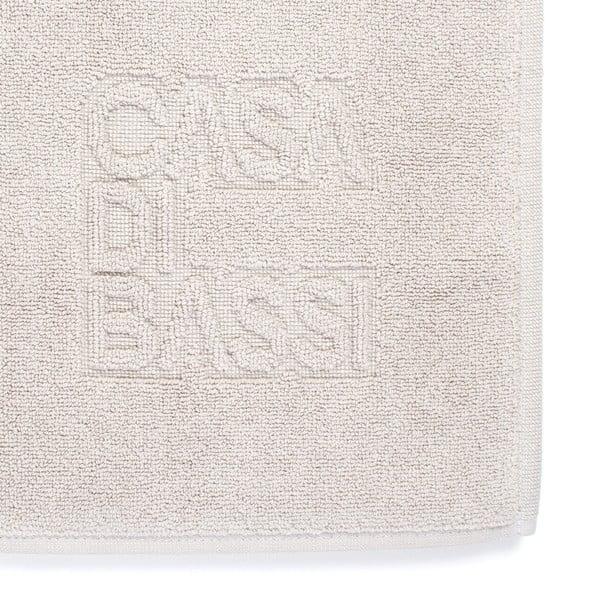Basic krémszínű fürdőszobai kilépő, 50 x 70 cm - Casa Di Bassi
