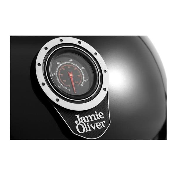 Classic One fekete grill beépített hőmérővel és légáramlás szabályozóval - Jamie Oliver