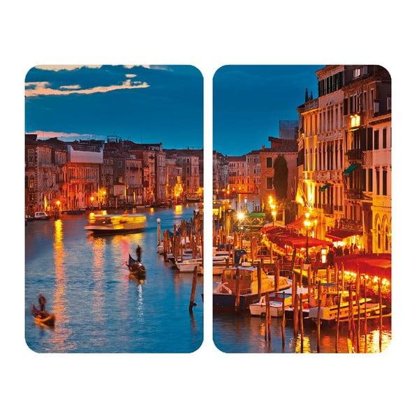 Venice tűzhelyvédő üveglap, 2 db - Wenko