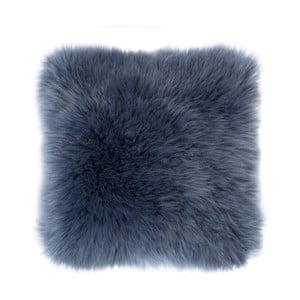 Sheepskin kék díszpárna, 45 x 45 cm - Tiseco Home Studio