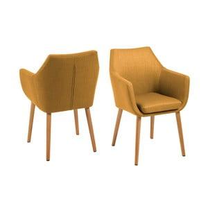 Nora konyakbarna fotel - Actona