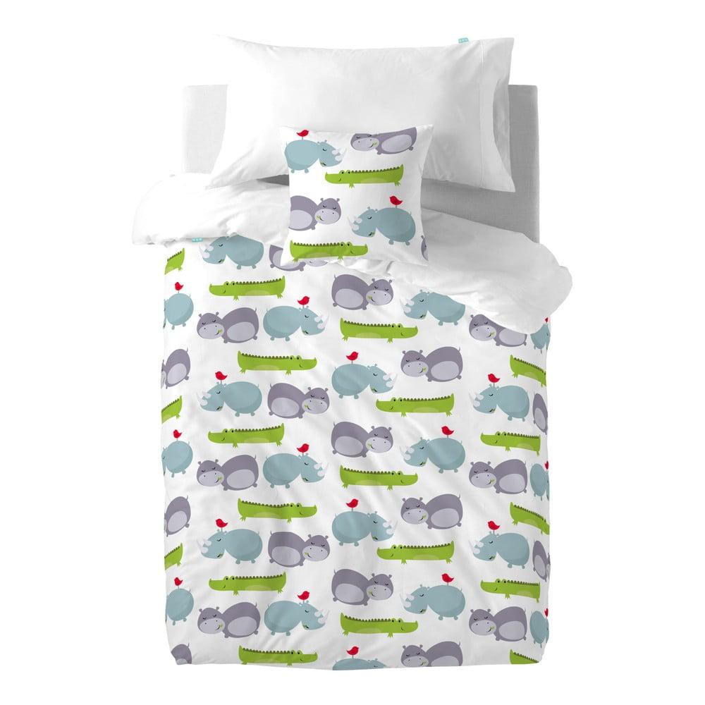 Hippo pamut gyermek ágyneműhuzat garnitúra párnahuzattal 5502fcbb72