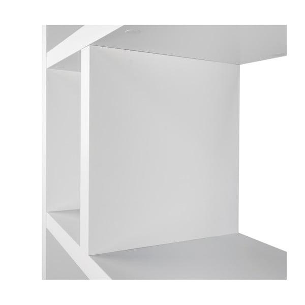 Berlin fehér könyvespolc, 70 x 198 cm - TemaHome
