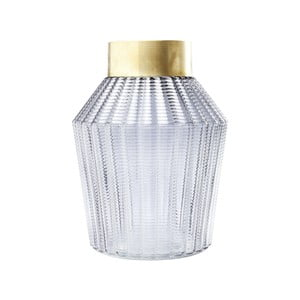 Barfly Grey világosszürke váza, 30 cm - Kare Design