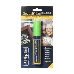 Zelený křídový popisovač na vodní bázi Securit® Liquid Passo