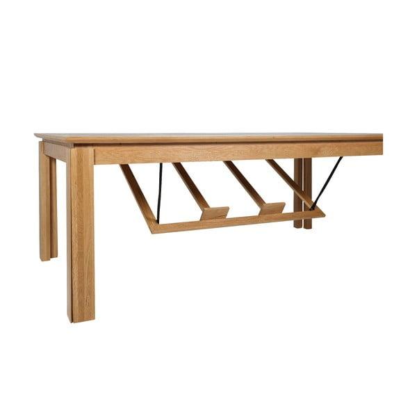 Ventura bővíthető étkezőasztal tölgyfa lábszerkezettel - Actona