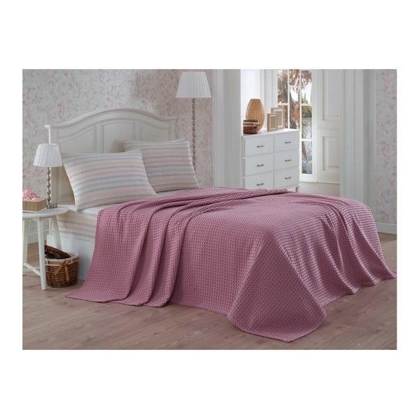 Rosso pamut ágytakaró kétszemélyes ágyra, lepedő és párnahuzatok szett, 200 x 230 cm