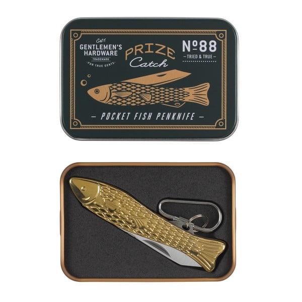 Halformájú aranyszínű bicska - Gentlemen's Hardware