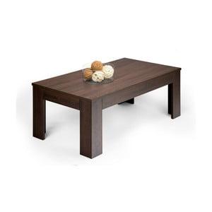 Easy sötét tölgyfamintás dohányzóasztal - MobiliFiver