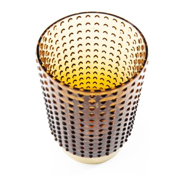Barfly Brown barna váza, 14 cm - Kare Design