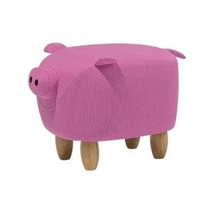 Pig rózsaszín lábtartó, 32 x 50 cm - Monobeli