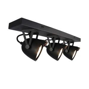 Černé nástěnné svítidlo LABEL51 Spot Moto Cap Tres