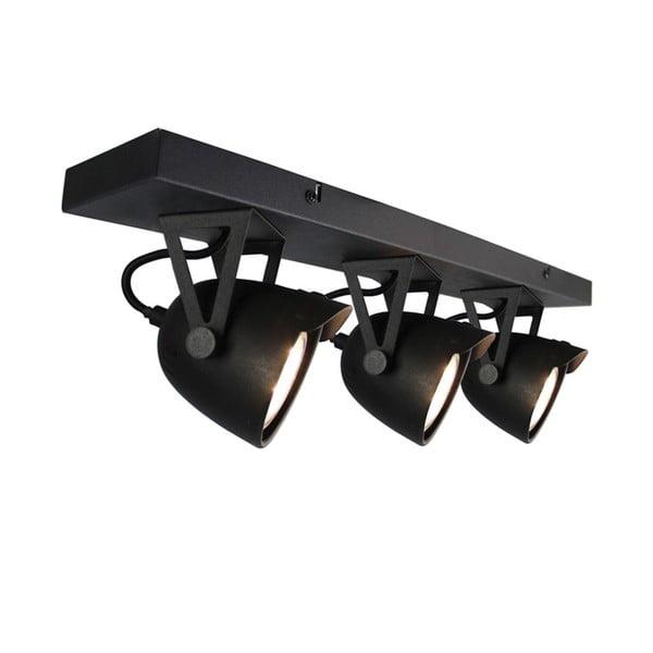 Spot Moto Cap Tres fekete mennyezeti lámpa - LABEL51