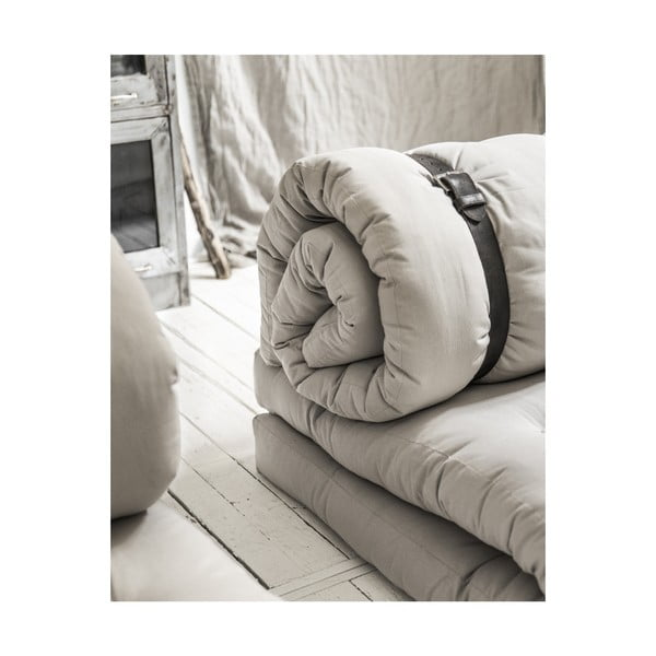 Buckle Up Dark Grey kinyitható fotel - Karup Design