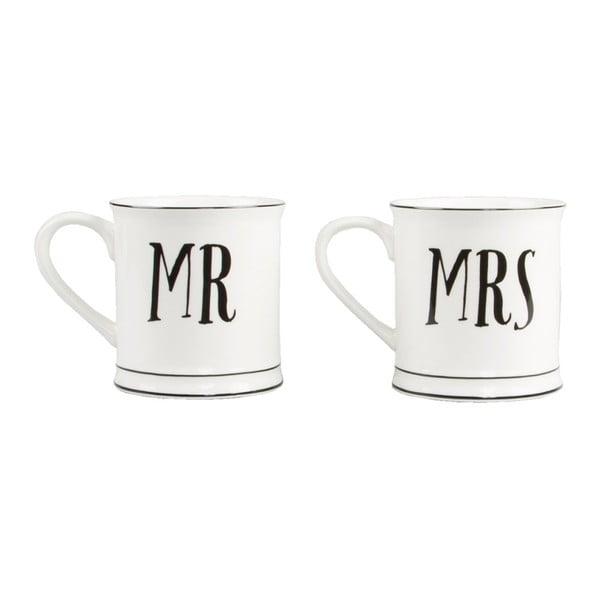 Mr & Mrs 2 db kerámiabögre - Sass & Belle