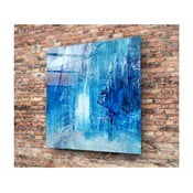Azul Juniya üvegezett kép, 30x30cm - Insigne