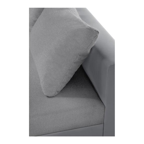 Aventure világosszürke kanapé, jobb oldalas - Interieur De Famille Paris