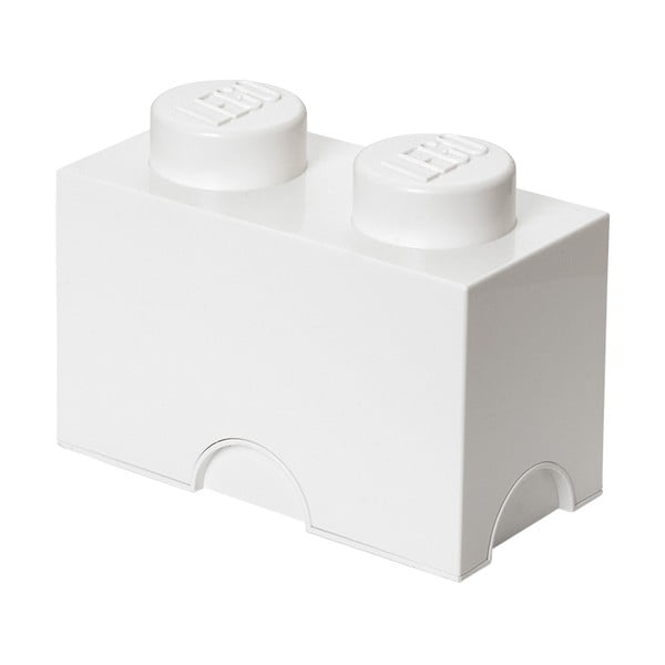 Fehér dupla tárolódoboz - LEGO®
