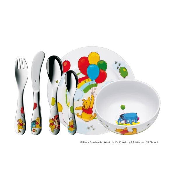 Micimackó 6 darabos rozsdamentes, gyerek evőeszköz- és étkészlet - WMF