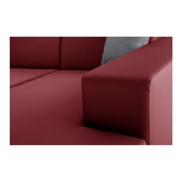 Tresor piros kinyitható jobboldali kanapé - Interieur De Famille Paris