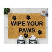 Wipe Your Paws természetes kókuszrost lábtörlő, 40 x 60 cm - Artsy Doormats