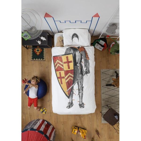 Knight egyszemélyes pamut ágyneműhuzat, 140 x 200 cm - Snurk