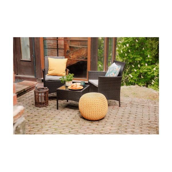Melony kerti bútor garnitúra, mesterséges rattanból - Timpana