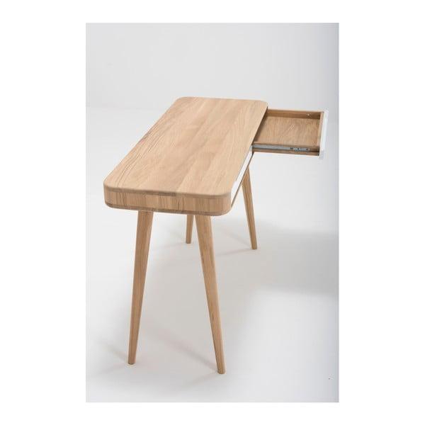 Ena tölgyfa konzolasztal, 110 x 42 x 75 cm - Gazzda