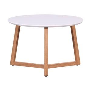 Marina tárgyalóasztal fehér asztallappal, 39 x 60 cm - Artemob