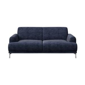 Puzo kék kétszemélyes kanapé - MESONICA