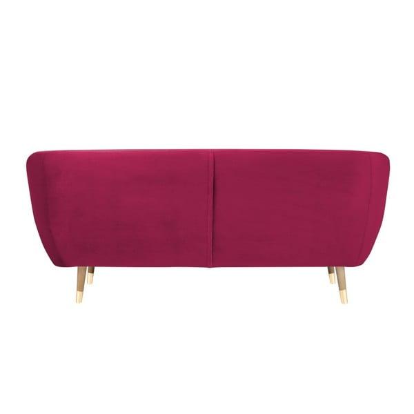 Benito rózsaszín háromszemélyes kanapé - Mazzini Sofas