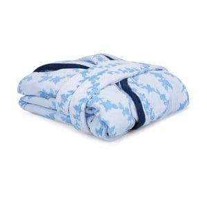 Lerry kék-fehér uniszex köntös, S-es méret