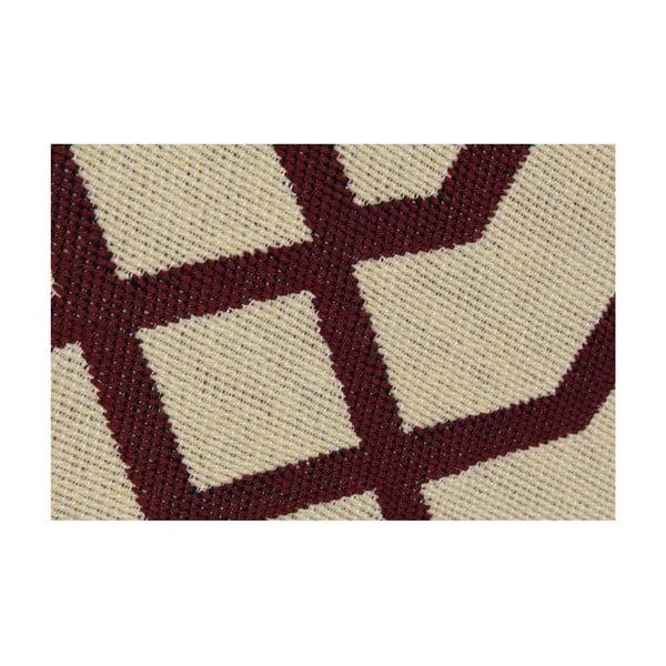 Ya Rugs Kenar piros-bézs szőnyeg, 60 x 90 cm