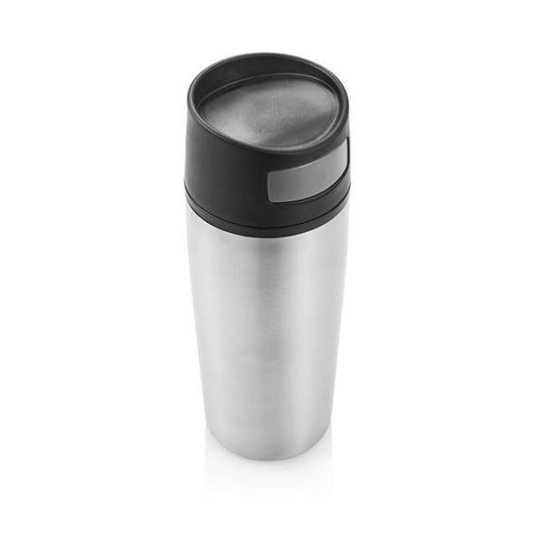 Autós ezüstszínű termosz bögre, 300 ml - XD Design