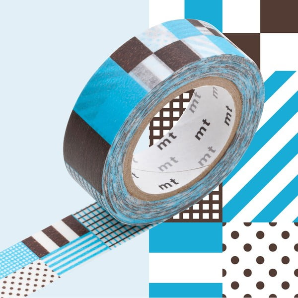Blanche dekortapasz, hossza 10 m - MT Masking Tape