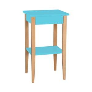 Tyrkysový odkládací stolek Ragaba Entlik