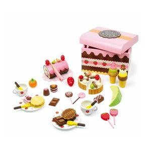 Sweeties fa süteményes játékdoboz - Legler