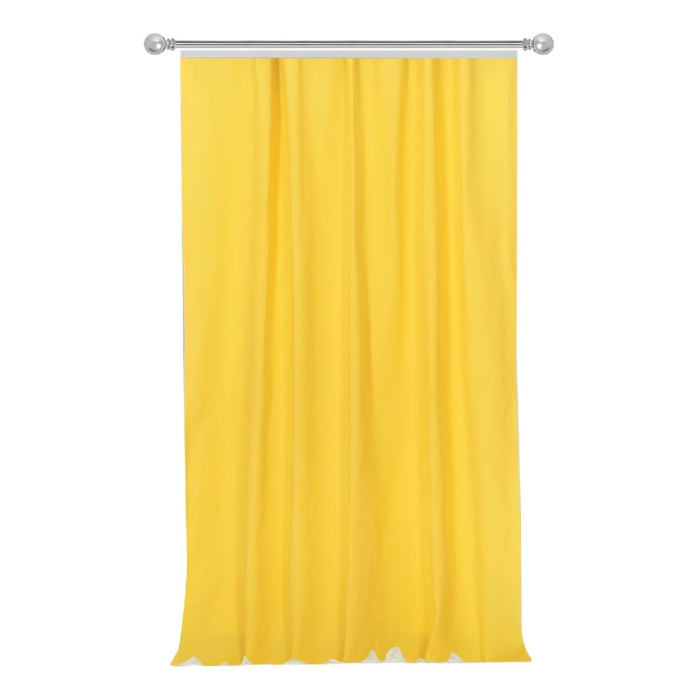 865dc59e8c Simply Yellow citromsárga függöny, 170 x 270 cm - Apolena | Bonami