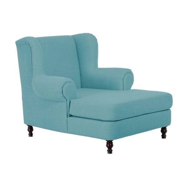 Mareille Aqua türkiz színű füles fotel - Max Winzer